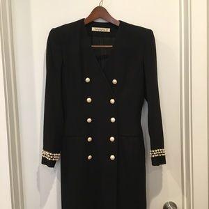 Tahari Vintage Long Suit Jacket